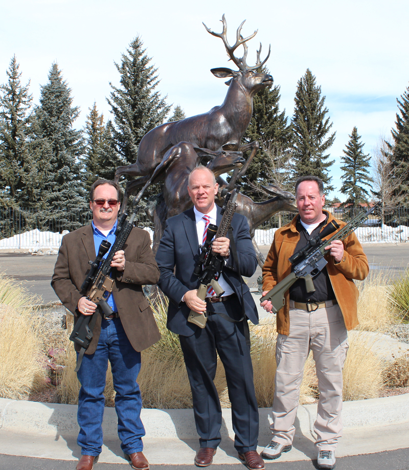 Wyoming Governor Commissions WY-15