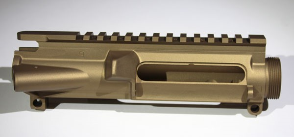 stripped forged upper receiver matte sand