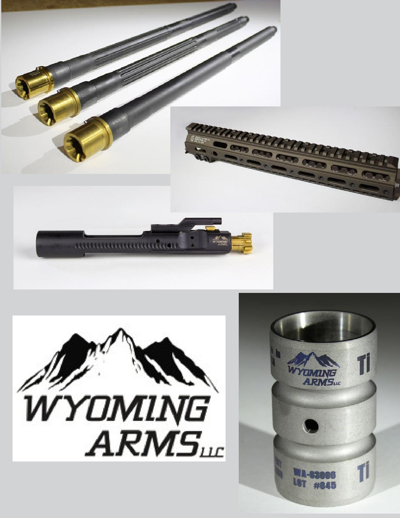 AR-15, WYOMING ARMS, RIFLE, barrel, handguard,