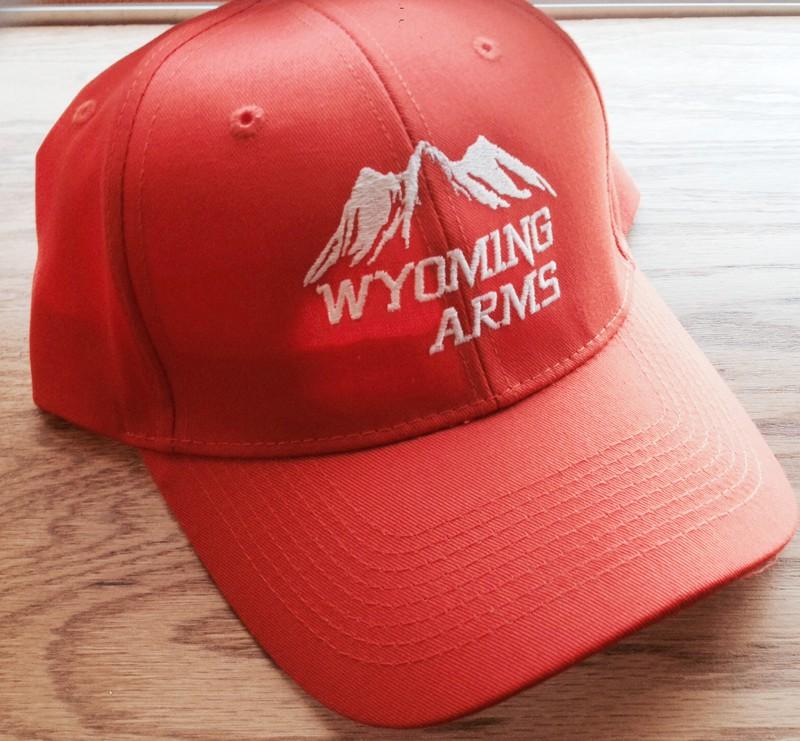 Wyoming Arms Logo Hunting Orange Hat