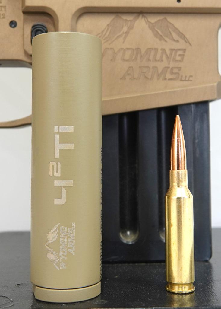 42TI Titanium Suppressor